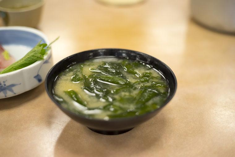 びんび家の味噌汁