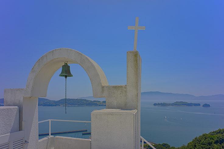 ホテルイルマーレからの瀬戸内海