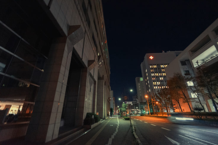 県庁通りの夜景