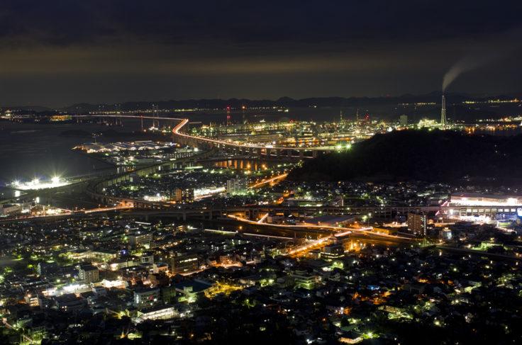 青ノ山からの瀬戸大橋