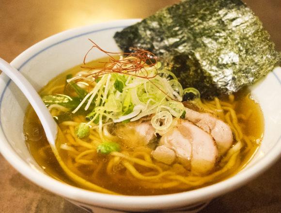 欽山製麺所の鶏そば