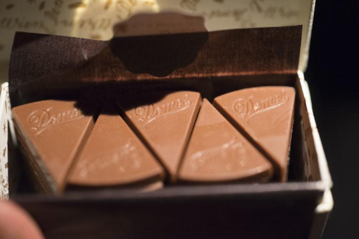 DEMELのミルクチョコレート