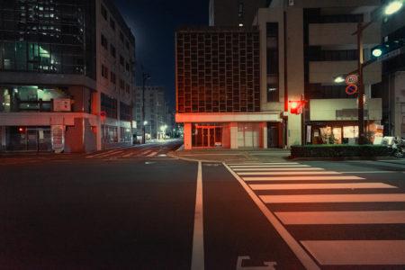 香川県庁通り夜景スナップ