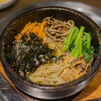 韓国料理双六の五穀米ビビンバ