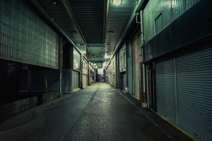 坂出市シャッター街