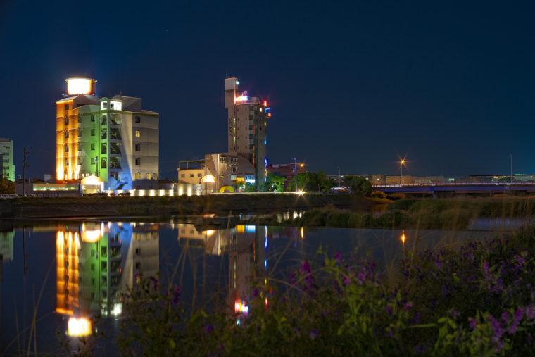 新川のホテル
