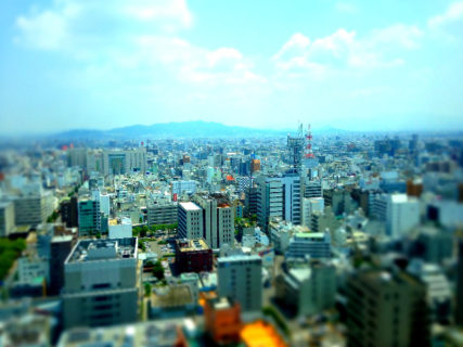 香川県庁展望台東側