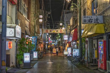 夜のトキワ新町