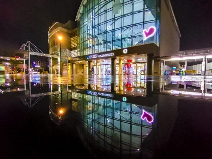 夜の高松駅3