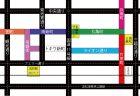 高松アーケード商店顔マップ