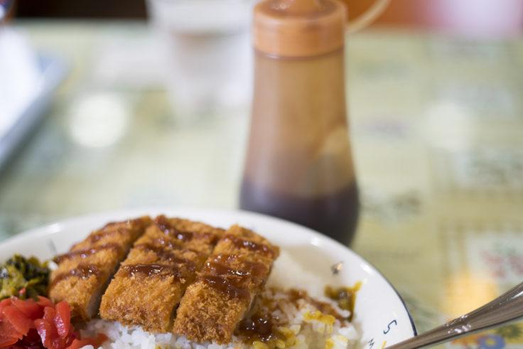 カフェ・ド・サンティエのカツカレーソース