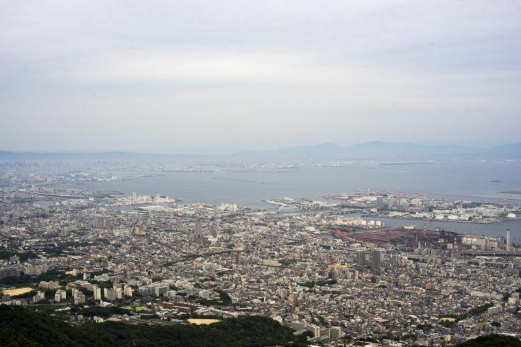 摩耶からの神戸