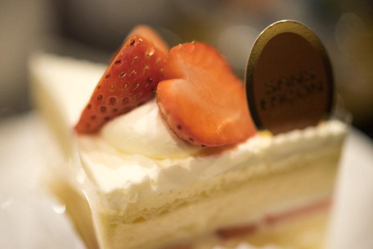 サンファソンのイチゴショートケーキ