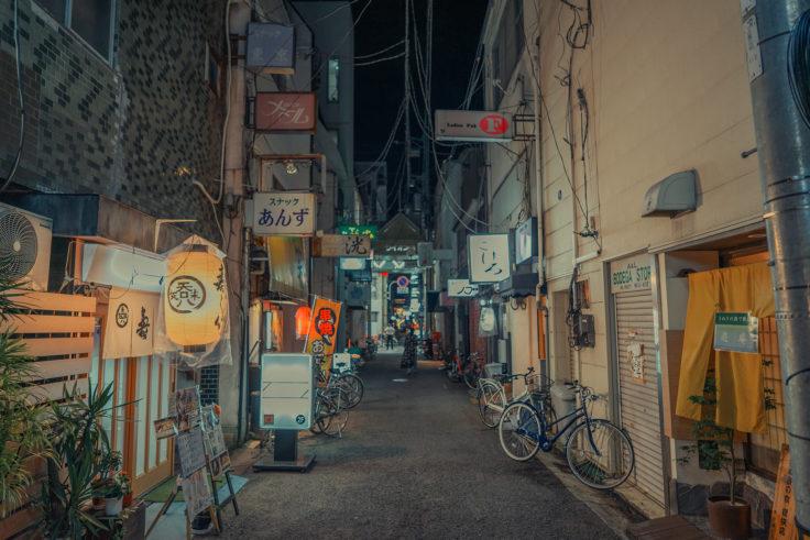 夜の路地裏4