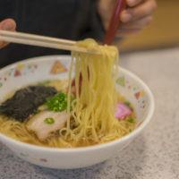 ラーメン川裕のしおラーメンの麺