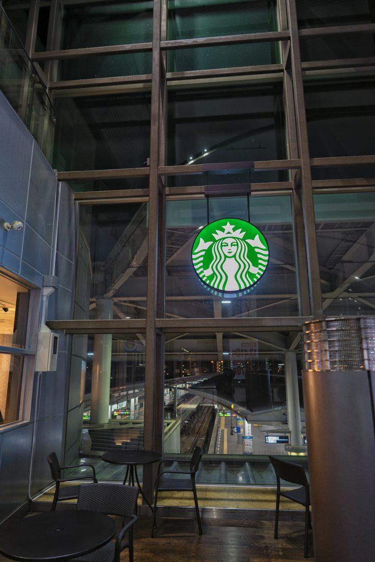 JR高松駅のスタバ