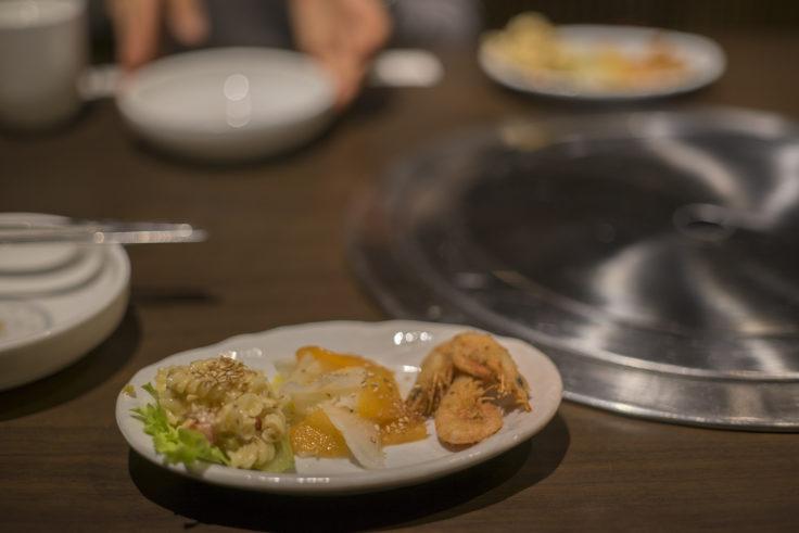 韓国料理双六のつきだし