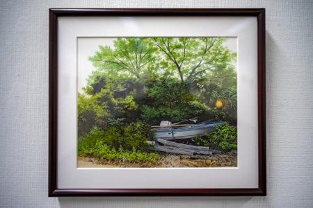 船隠雄貴の「木蔭に眠る舟」
